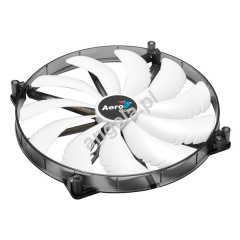 Aerocool 200mm Silent Master 200 - White LED