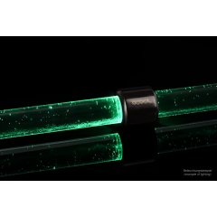 Alphacool Aurora HardTube LED ring 13mm deep black - green