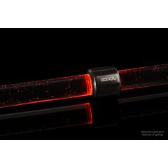 Alphacool Aurora HardTube LED ring 13mm deep black - red