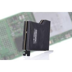 Alphacool Eisblock HDX-2 PCIe 3.0 x4 adaptor for M.2 NGFF with passive cooling block - black