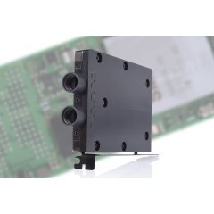 Alphacool Eisblock HDX-3 PCIe 3.0 x4 adaptor for M.2 NGFF with water cooling block - black