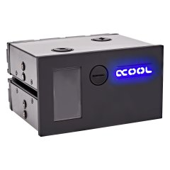 Alphacool Eisfach - Single Laing DC-LT - Dual 5,25 Bay Station incl. 2x Alphacool DC-LT 2400