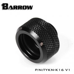 Barrow Hardtube Fitting 16mm black