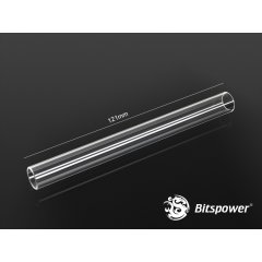 Bitspower Crystal Link Tube - 121mm