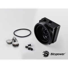 "Bitspower D5 MOD TOP (Black ""S"" Model) BP-D5TOPPS-BK"