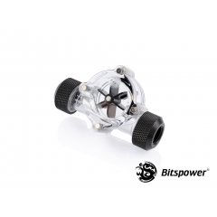 Bitspower Flow Indicator Carbon Black BP-FI-CLBKCB