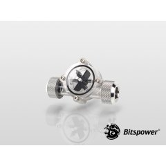 Bitspower Flow Indicator Silver BP-FI-CLBKSL
