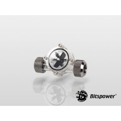Bitspower Flow Indicator Black Sparkle BP-FI-CLBKBS