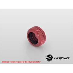 "Bitspower G1/4"" Deep Blood Red Enhance Multi-Link For OD 16MM BP-DBREML16"