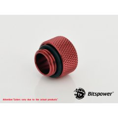 "Bitspower G1/4"" Deep Blood Red Multi-Link Adapter BP-DBRWP-C47"