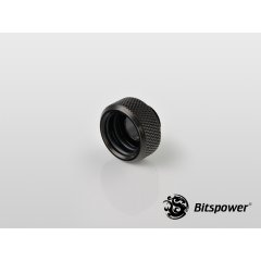 "Bitspower G1/4"" Matt Black Multi-Link For OD 16MM Adapter BP-MBWP-C89"