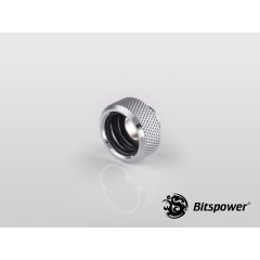 "Bitspower G1/4"" Silver Shining Multi-Link For OD 16MM Adapter BP-WTP-C89"