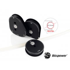 Bitspower Mandrels OD12MM Kit (Matt Black) BP-CMMK12-MBK