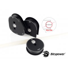Bitspower Mandrels OD16MM Kit (Matt Black) BP-CMMK16-MBK
