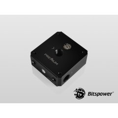 "Bitspower Premium Magic-Cube Type DDC MOD TOP G1/4"" (POM Version) BP-PMCTDDCTPP-BK"