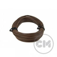Cable Modders Insulated Copper Pc Cable Lead (18awg) 5m - Brown
