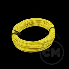 Cable Modders Insulated Copper Pc Cable Lead (18awg) 5m - Yellow
