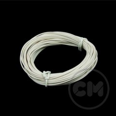 Cable Modders Insulated Copper Pc Cable Lead (18awg) 5m - White