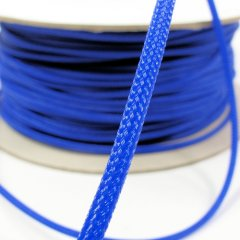 Cable Modders U-HD Braid Sleeving - UV Blue 4mm (1m)