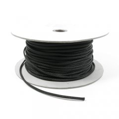 Cable Modders U-HD Braid Sleeving - Jet Black 4mm (1m)
