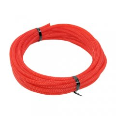Cable Modders U-HD Retail Pack Braid Sleeving UV Red 4mm x 5m