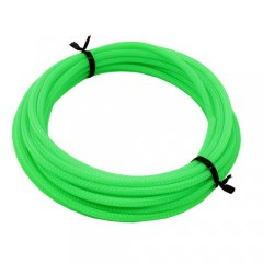 Cable Modders U-HD Retail Pack Braid Sleeving UV Green- 4mm x 5m