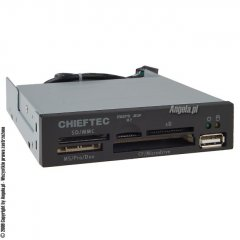 Chieftec All In 1 Internal Card Reader CRD-501D