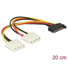 Delock adapter SATA->2xMolex