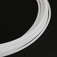 E22 sleeve 4mm PET Teleios – White (1m)