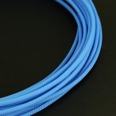 E22 sleeve 4mm PET Teleios – Blue (1m)