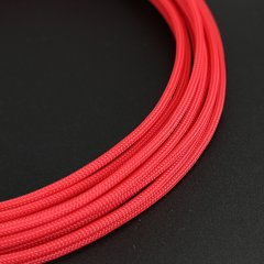 E22 sleeve 4mm PET Teleios – Red (1m)