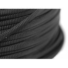 E22 sleeve 8mm PET Teleios – Black (1m)