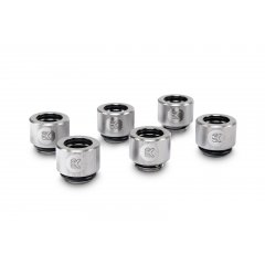 EK Water Block EK-HDC Fitting 12mm - Nickel (6-pack)