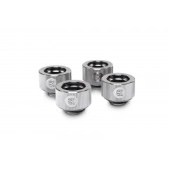 EK Water Block EK-HDC Fitting 16mm - Nickel (4-pack)