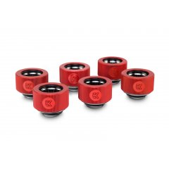 EK Water Block EK-HDC Fitting 16mm - Red (6-pack)