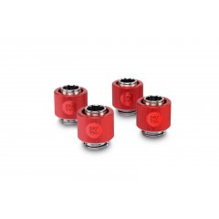 EK Water Blocks EK-ACF Fitting 10/13mm - Red (4-pack)