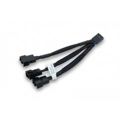 EK Water Blocks EK-Cable Y-Splitter 3-Fan PWM (10cm)