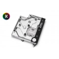 EK Water Blocks EK-FB MSI X470 Pro Carbon RGB Monoblock - Nickel