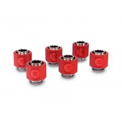 EK Water Blocsk EK-ACF Fitting 10/13mm - Red (6-pack)