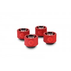 EK Water Blocsk EK-ACF Fitting 10/16mm - Red (4-pack)
