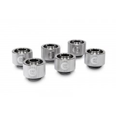 EK Water Blocsk EK-ACF Fitting 10/16mm - Nickel (6-pack)