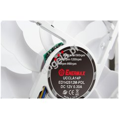 Enermax 120mm Cluster Advanced UCCLA12P PWM - white LED