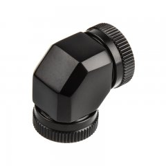 PHANTEKS Hard-Tube Adapter 2x 12mm 90° - black