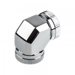 PHANTEKS Hard-Tube Adapter 2x 12mm 90° - chrome
