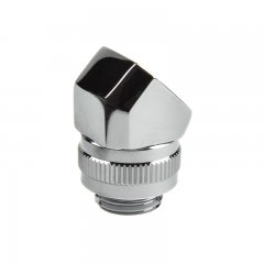 PHANTEKS M-F Rotary Fitting 45° G1/4 - chrome