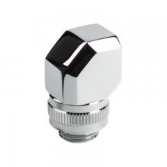 PHANTEKS M-F Rotary Fitting 90° G1/4 - chrome