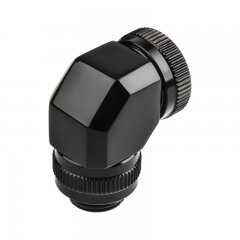 PHANTEKS Rotary Hard Tube Fitting 12mm 90° G1/4 - black