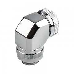 PHANTEKS Rotary Hard Tube Fitting 12mm 90° G1/4 - chrome