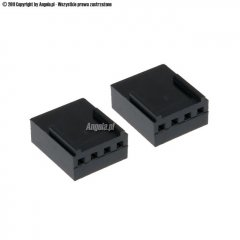 Phobya FAN Power Connector 4Pin PWM female with pins - 2 pcs Black