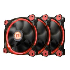 Thermaltake 120mm Riing 12 LED Red (3 fan pack)